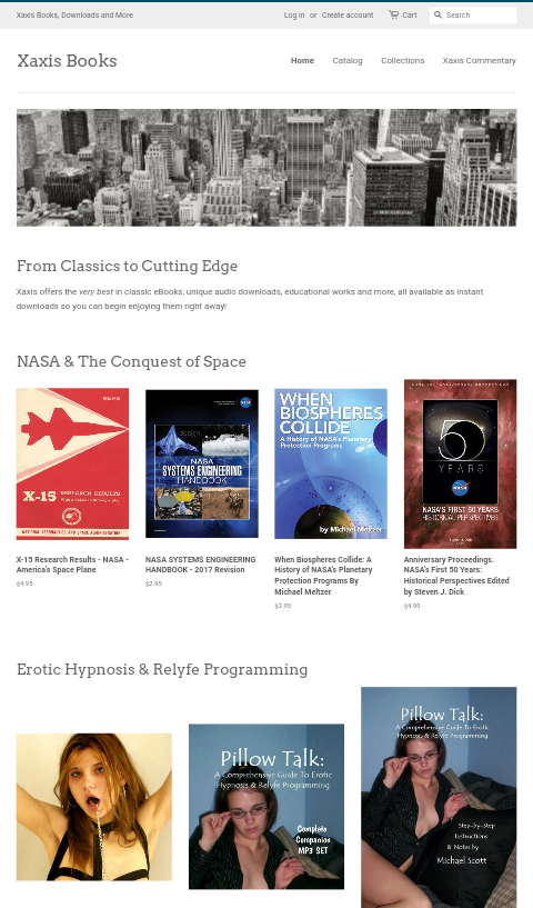 Pacific & Co. LaunchesXaxisBooks.com
